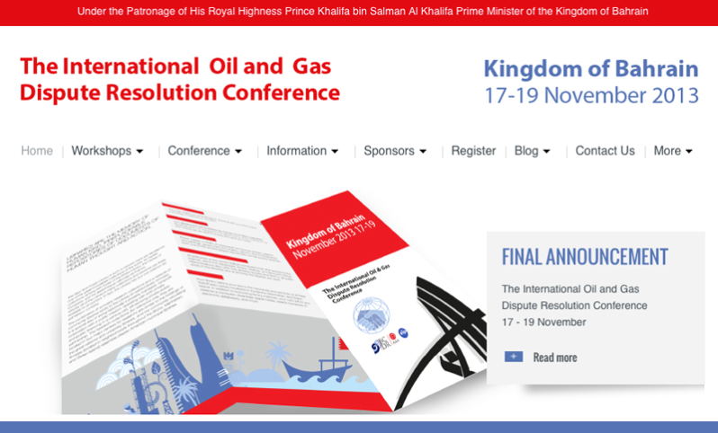 International Oil and Gas Dispute Resolution Conference