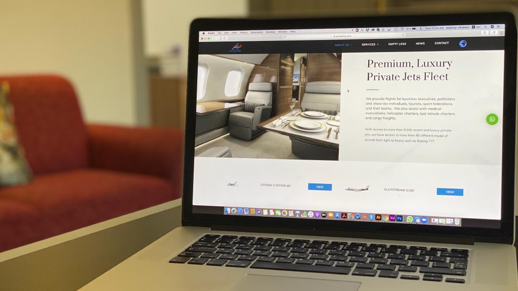 aerojet private rental
