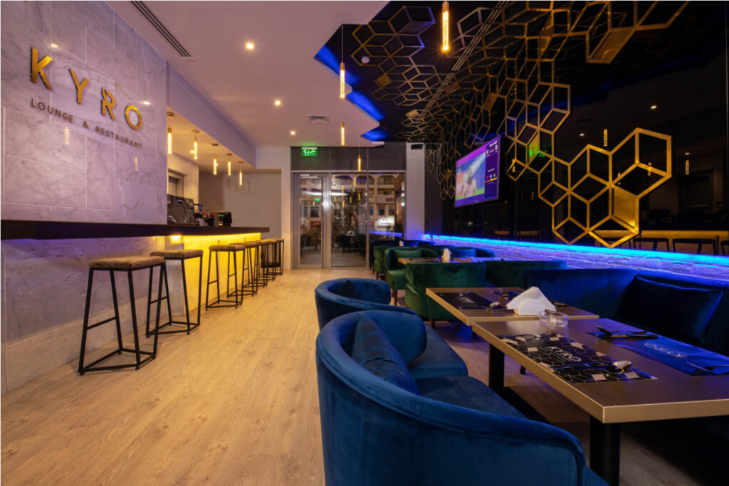 Kyro Lounge and restaurant
